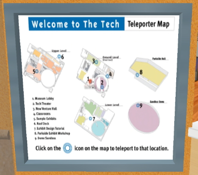 Tech Museum of Innovation - plan