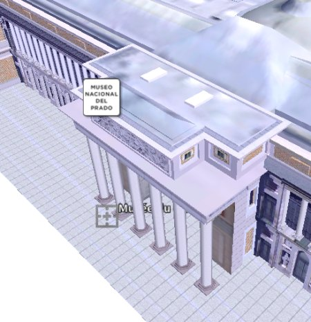 Le bâtiment du Prado reconstitué en 3 dimensions