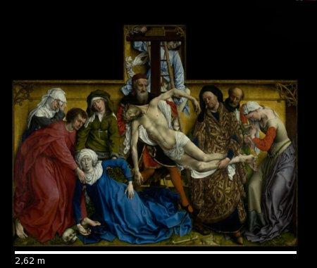 Descente de la Croix, Roger van der Weyden