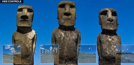 Moai dans 360 cities