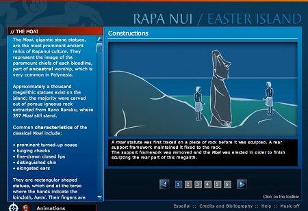 Visite virtuelle de l'Ile de Pâques