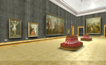 Salle Rubens en 3D