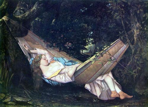 Gustave Courbet (1819 - 1877), Le Hamac, 1844
