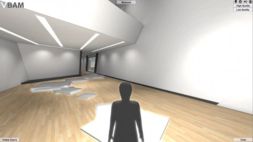 Virtual Broad Art Museum - con|FLUENCE