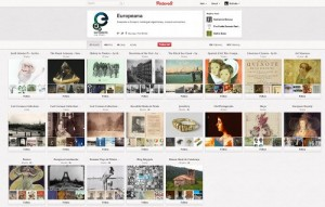 Europeana in Pinterest