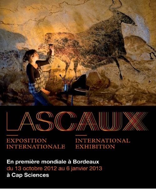Affiche de l'exposition Lascaux