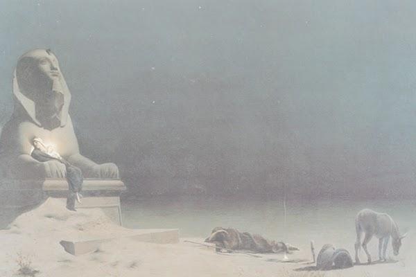 Luc Olivier Merson, Repos pendant la fuite en Egypte, 1879, Museum of Fine Arts