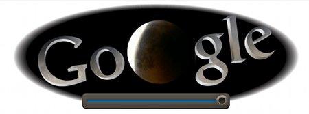 Eclipse sur Google
